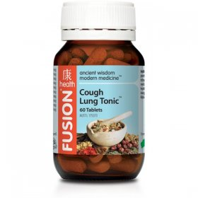 FUSION HEALTH COUGH LUNG TONIC TABLETS