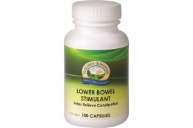 NATURE'S SUNSHINE LOWER BOWEL STIMULANT