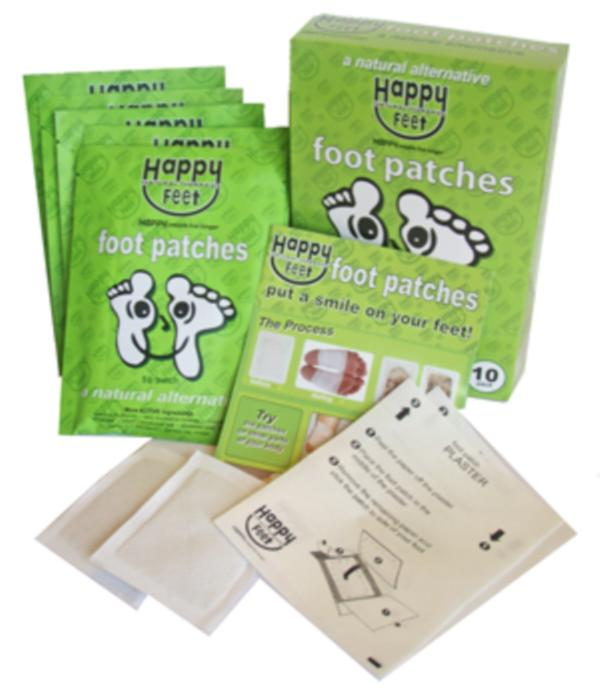 HAPPY FEET DETOX PATCHES