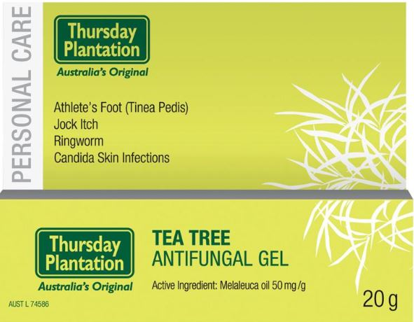 TEA TREE ANTIFUNGAL GEL