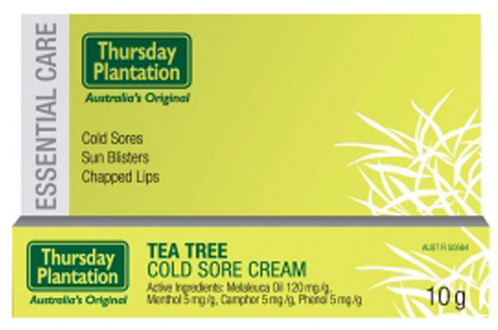 TEA TREE COLD SORE CREAM