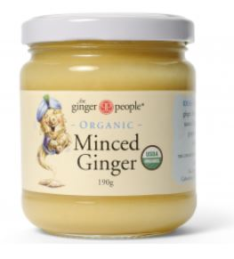 ORGANIC MINCED GINGER