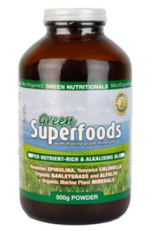 GREEN SUPERFOODS POWDER