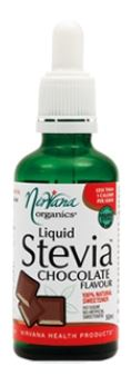 NIRVANA LIQUID STEVIA CHOCOLATE FLAVOUR