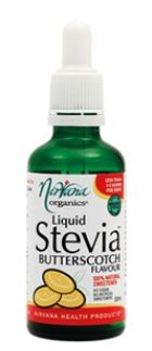 NIRVANA LIQUID STEVIA BUTTERSCOTCH FLAVOUR