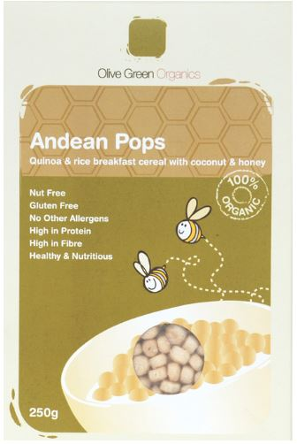 ANDEAN POPS COCONUT AND HONEY