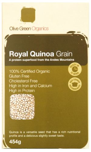 ROYAL WHITE QUINOA GRAIN