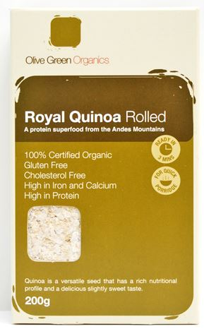 ROYAL WHITE QUINOA ROLLED