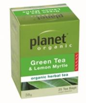 GREEN TEA WITH LEMON MYRTLE