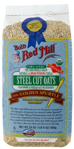 ORGANIC STEEL CUT OATS