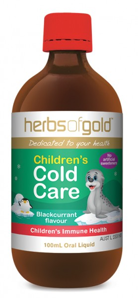 CHILDREN'S COLD CARE