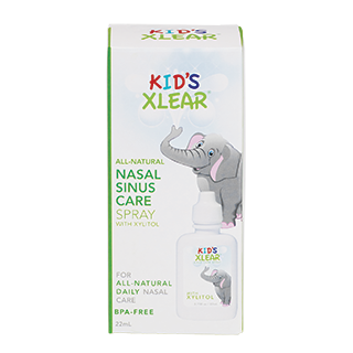 XLEAR KID'S NASAL SINUS CARE SPRAY