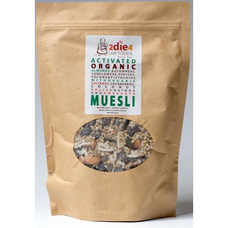 ACTIVATED ORGANIC MUESLI