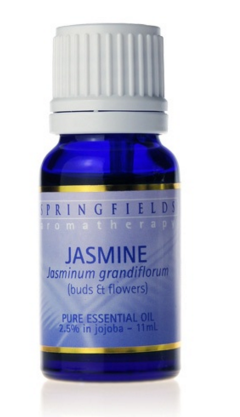SPRINGFIELDS JASMINE 2.5% IN JOJOBA ESSENTIAL OIL