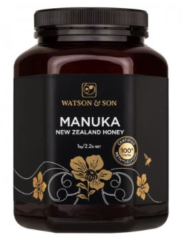 WATSON & SON MANUKA NEW ZEALAND HONEY 100+ MGO