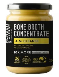 MEADOW & MARROW BONE BROTH CONCENTRATE - A.M CLEANSE