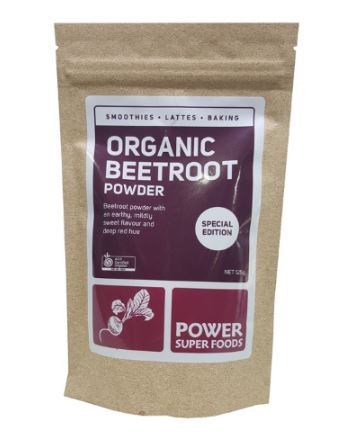 POWER SUPER FOODS ORGANIC BEETROOT POWDER