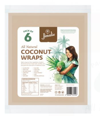 JIMALIE COCONUT WRAPS