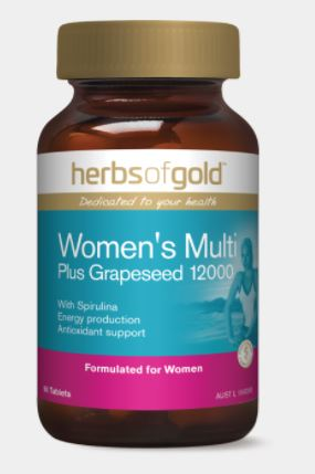 WOMEN'S MULTI PLUS GRAPESEED 12,000