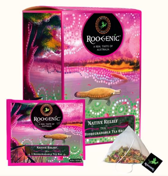 Roogenic Native Relief Tea Bags