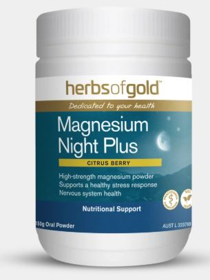 Magnesium Night Plus By Herbs of Gold 150g