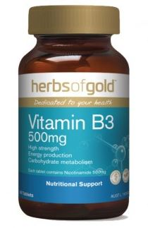 HERBS OF GOLD VITAMIN B3