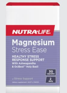 Nutra-Life Magnesium Stress Ease 60s