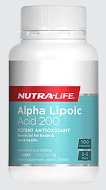 ALPHA LIPOIC ACID 200MG By Nuta Life