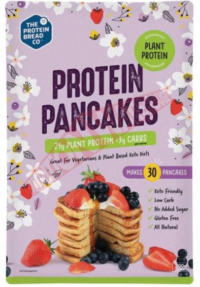 PLANT PROTEIN PANCAKES BY PROTEIN BREAD CO 300g