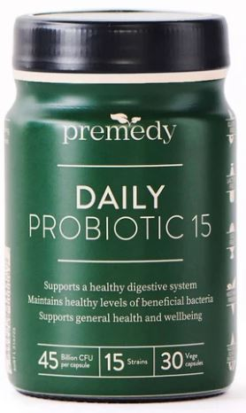PREMEDY DAILY PROBIOTIC 15 30Vcaps