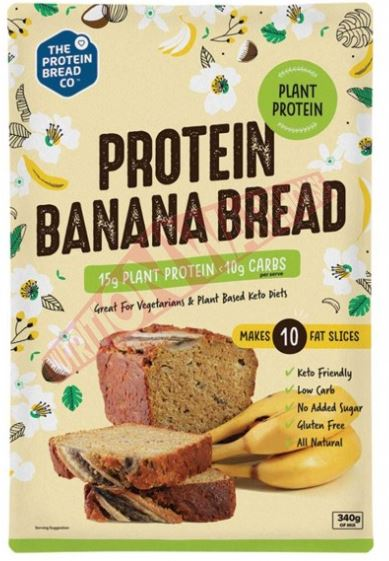PLANT PROTEIN BANANA BREAD MIX 340g