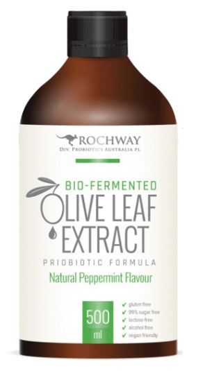 OLIVE LEAF EXTRACT PEPPERMINT FLAVOUR WITH MULTIPLY PLUS