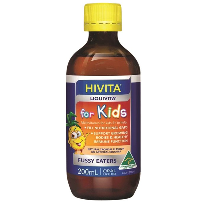 Hivita Liquivita for Kids (Liquid Multi) 200ml