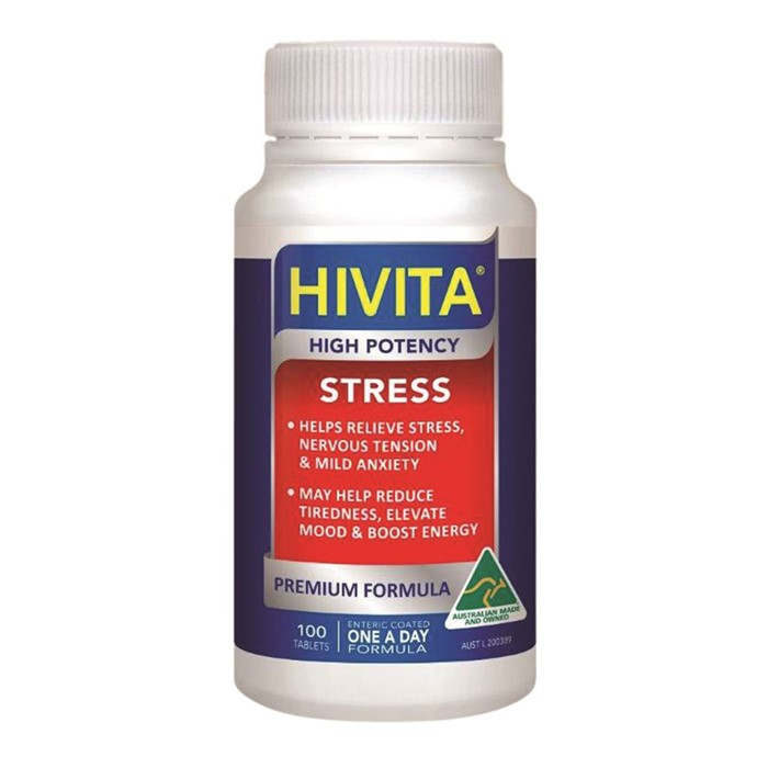 Hivita Stress (High Potency) 100t