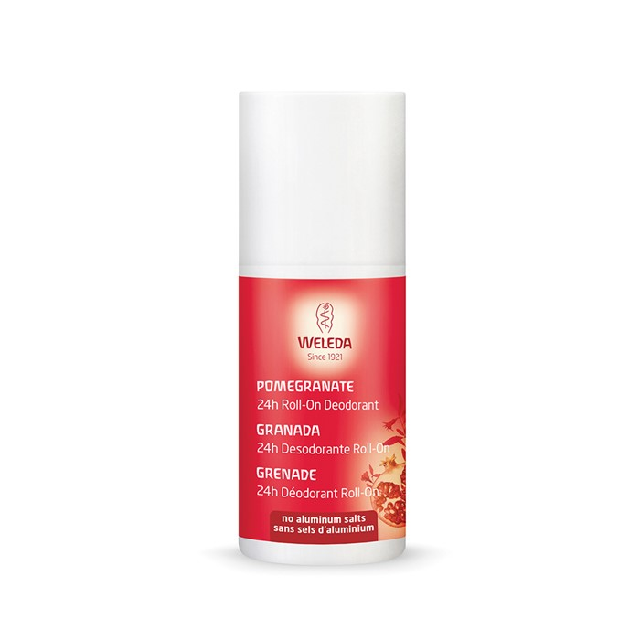 Weleda Deodorant Roll On 24hr Pomegranate 50ml
