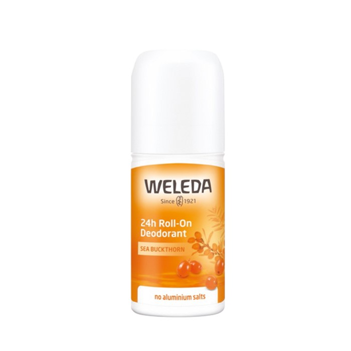 Weleda Deodorant Roll On 24hr Sea Buckthorn 50ml