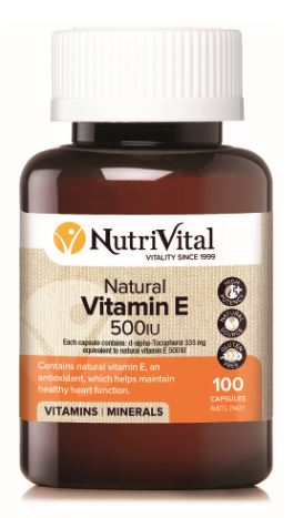 NURAVITAL NATURAL VITAMIN E 500 IU