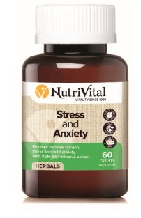NUTRIVITAL STRESS AND ANXIETY