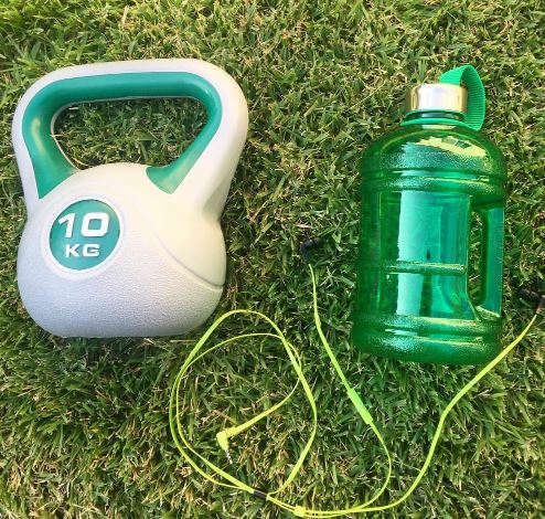 1.89 LITRE BPA FREE WATER BOTTLE GREEN