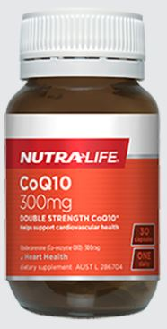 CO-ENZYME Q10 300MG By NUTRA LIFE