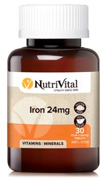 IRON 24MG By NUTRIVITAL