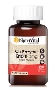 NUTRIVITAL CO-ENZYME Q10 150MG